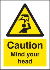 Caution mind your head - A5 sav