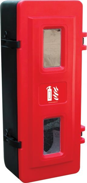 5Kg CO2 Extinguisher Cabinet, Lockable | Fire Safety Equipment