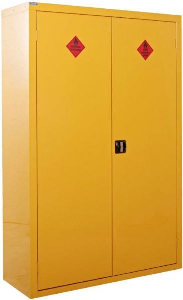 Double Flammable Storage Cabinet 1800mm x 1200mm x 460mm