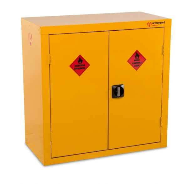 Double Flammable Storage Cabinet 900mm x 900mm x 460mm