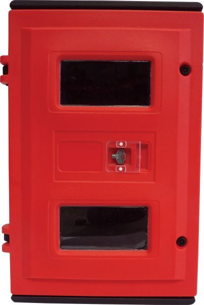 Triple Fire Extinguisher Cabinet, Lockable | Fire Safety