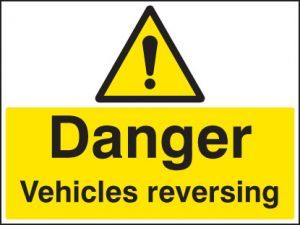 Danger vehicle reversing