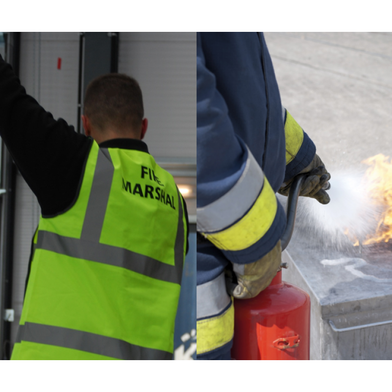 Fire Marshal with Live Extinguisher Training (6 Hours)