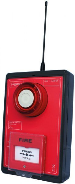Cygnus Fire Call Point Alarm, PIR Optional