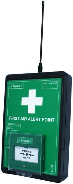 Cygnus First Aid Alert Point, PIR Optional
