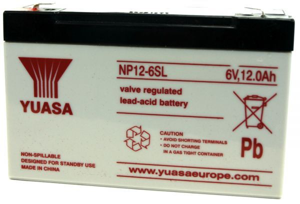 Yuasa Battery for Cygnus Panel