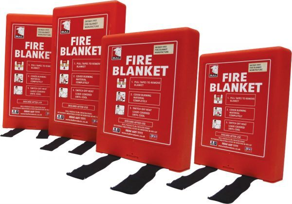 Fire Blanket Hard Case - Bull Products