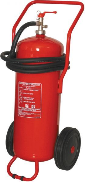 100 Litre Wheeled Foam Fire Extinguisher | Bull Products
