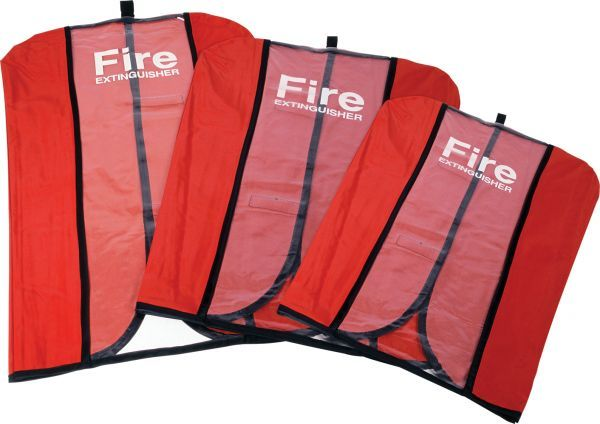 Large PVC Fire Extinguisher Cover Up to 9kg