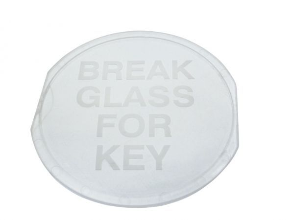 Spare Glass Insert For Key Box