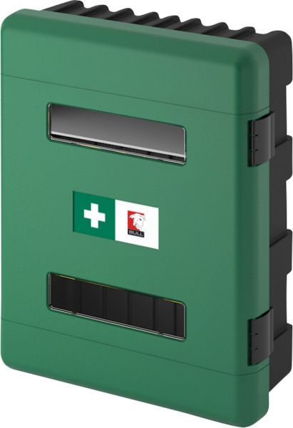 Dual First Aid Cabinet, Green | First Aid Equipment