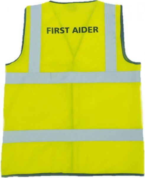 First Aiders Hi-Vis Jacket