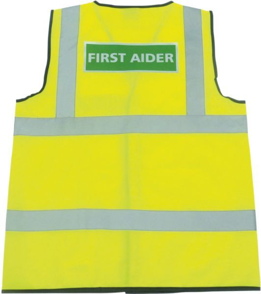 First Aiders Reflective Hi-Vis Jacket
