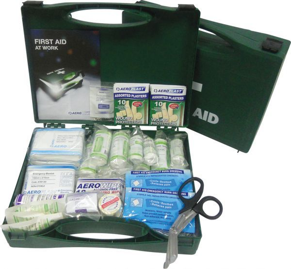 AeroKit BS 8599 Economy Medium First Aid Kit