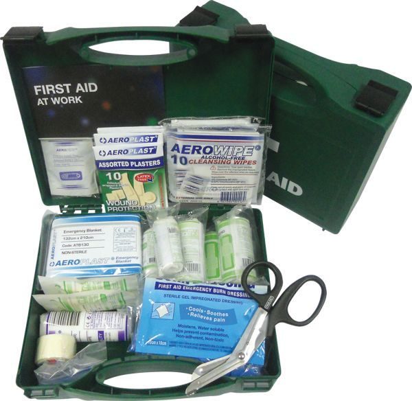 AeroKit BS 8599 Economy Small First Aid Kit