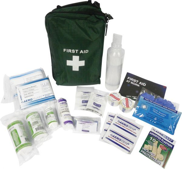 AeroKit BS 8599 Travel First Aid Kit in Nylon Bag