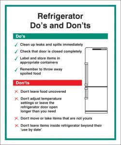 Refrigerator - Do's & Dont's