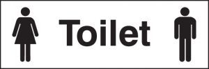 Toilet (with male & female symbol)