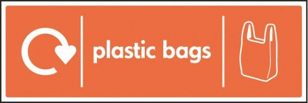 Plastic Bags Sign