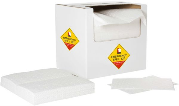 Oil Absorbent Dimpled Pads 40cm x 50cm x 5mm