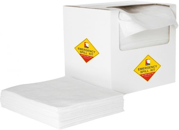 Oil Absorbent Pads 40cm x 50cm x 1.5mm