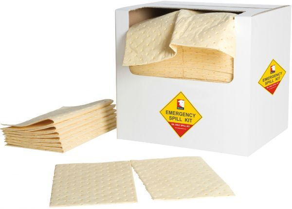 Yellow Chemical Absorbent Pad 40cm x 50cm x 3mm