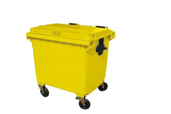 Large Capacity Bin 1100L Grey