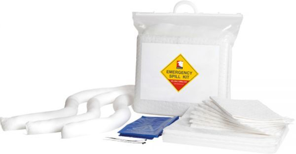 20 Litre Oil Spill Kit Bag