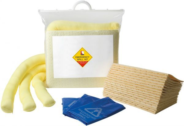 20 Litre Yellow Chemical Spill Kit Bag