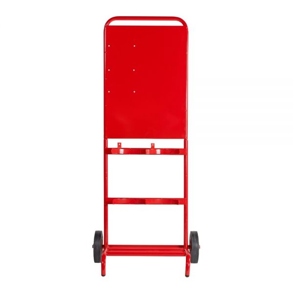 Double Contractor Fire Extinguisher Trolley