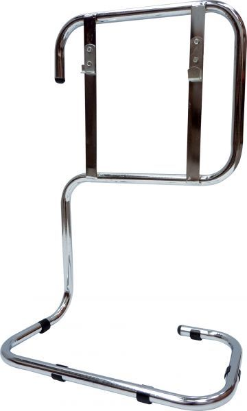 Double Fire Extinguisher Stand Chrome | Trolleys & Stands