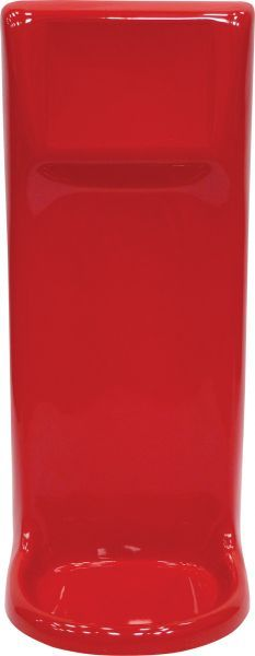 Single Fiberglass Fire Extinguisher Stand Red