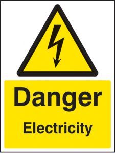Danger electricity