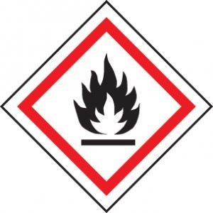 GHS Label - Flammable